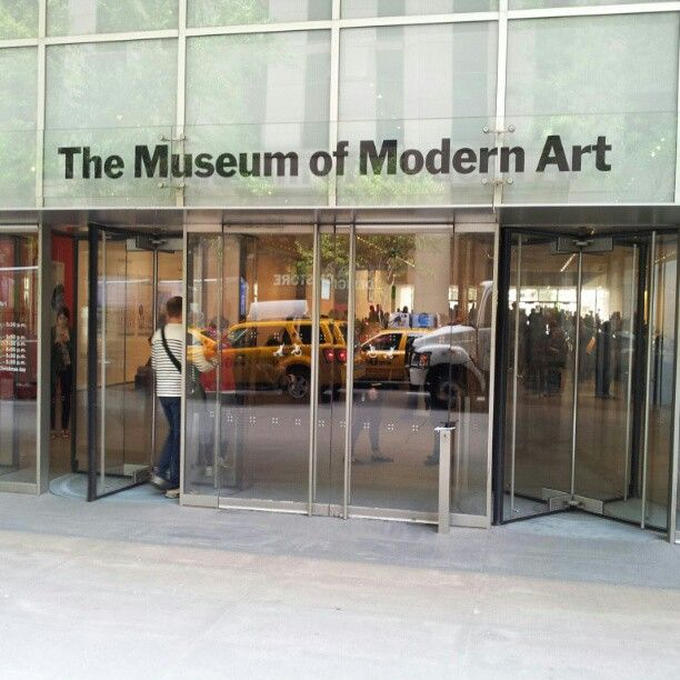 Museum Of Modern Art Moma Museum Passes From The Library