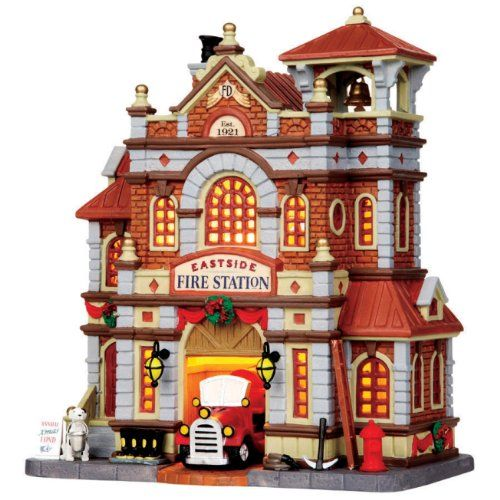 Lemax 15262 Lemax Fire Station 11 in. Tall Lemax http://www.amazon.com/dp/B005GZ1O4A/ref=cm_sw_r_pi_dp_7zjIub1PDC7SF