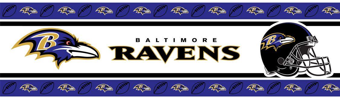 Baltimore Ravens Wallpaper Border 21.95 http//www