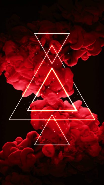 Red Smoke Bomb IPhone Wallpaper - IPhone Wallpapers
