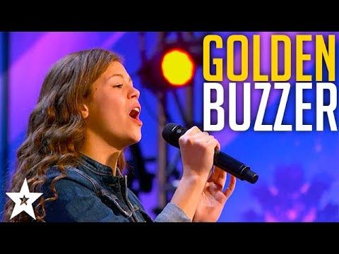 13 Year Old Angelina Green Wins Golden Buzzer On America S Got
