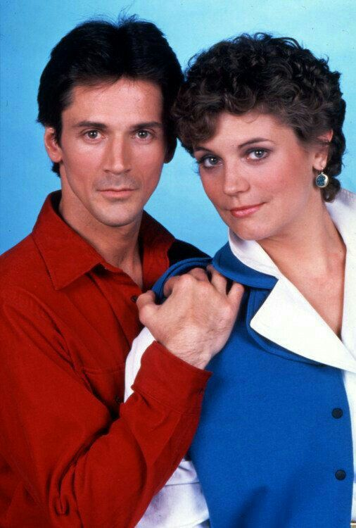 GUIDING LIGHT: Tony and Annabelle (Gregory Beecroft and Harley Jane Kozak).
