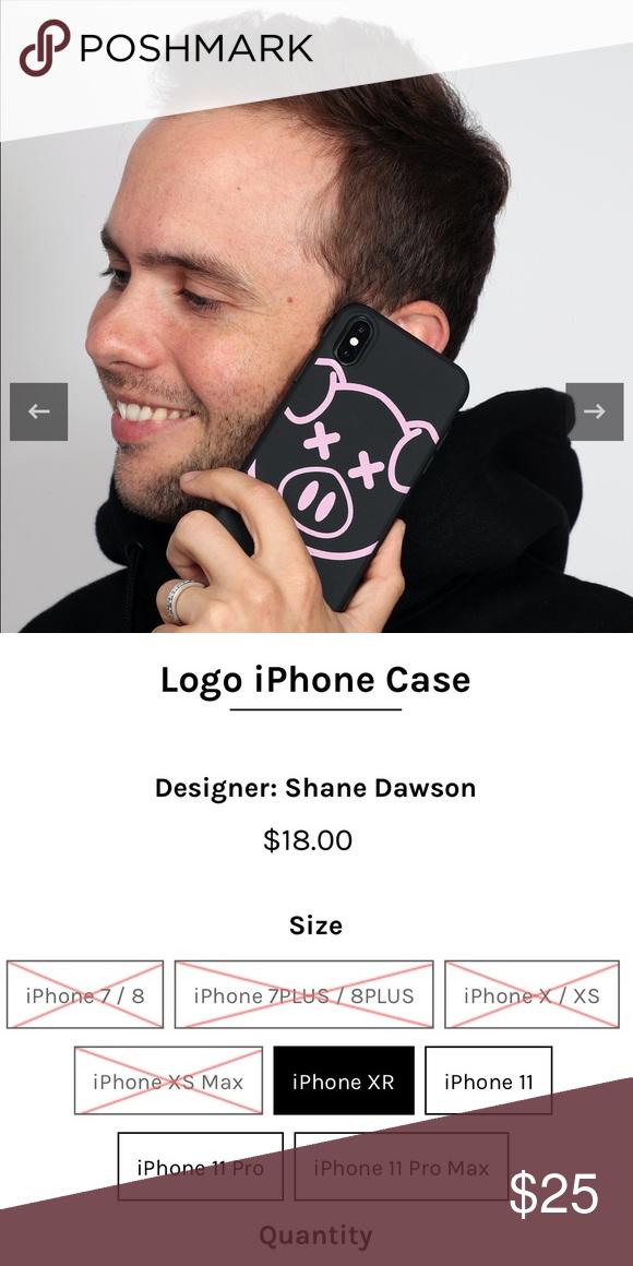 Shane Dawson Pig Logo Iphone Xs Max In 2020 Shane Dawson Phone Case Accessories Pig Logo