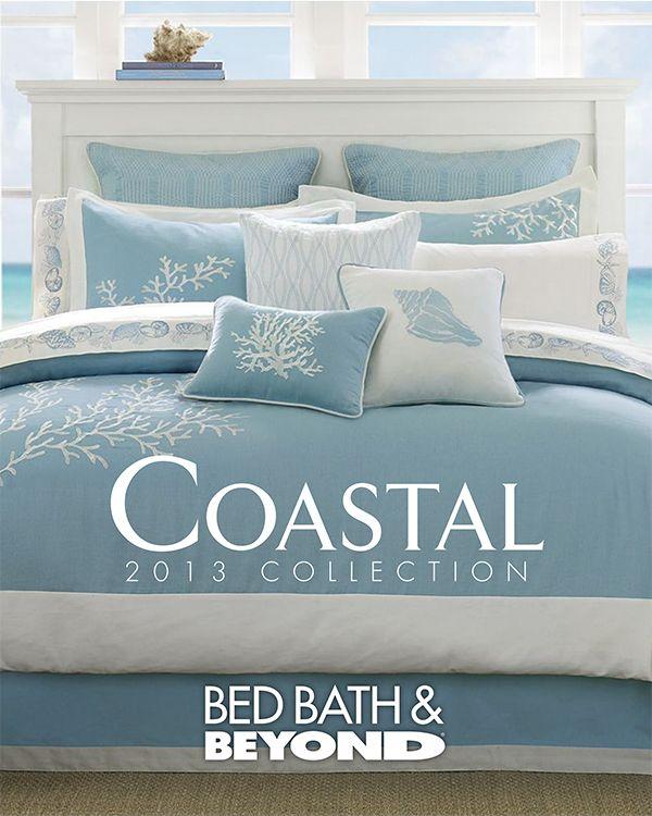 Pale Blue Sea Coastal Bedrooms Coastal Bedding Beach