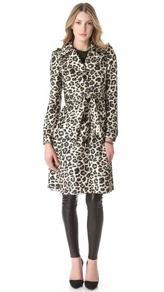 alice + olivia Charla Trench Coat...wish I could pull this off!