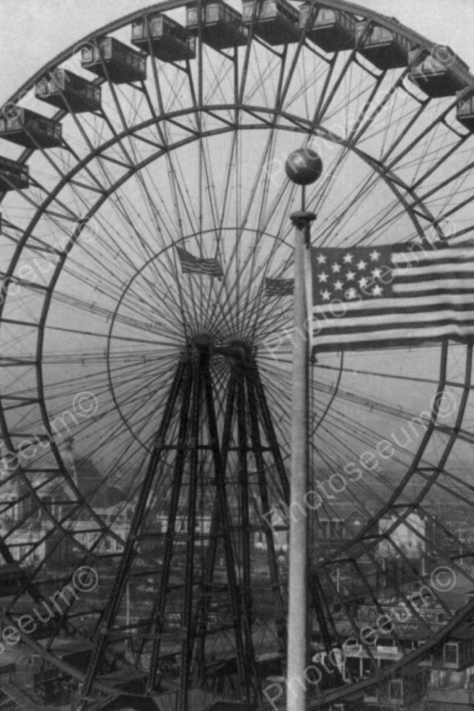 Great Ferri Wheel Ax Lever World Fair 4x6 Reprint Of Old Photo Abandoned Amusement Park S Uga Dissertation Format Check