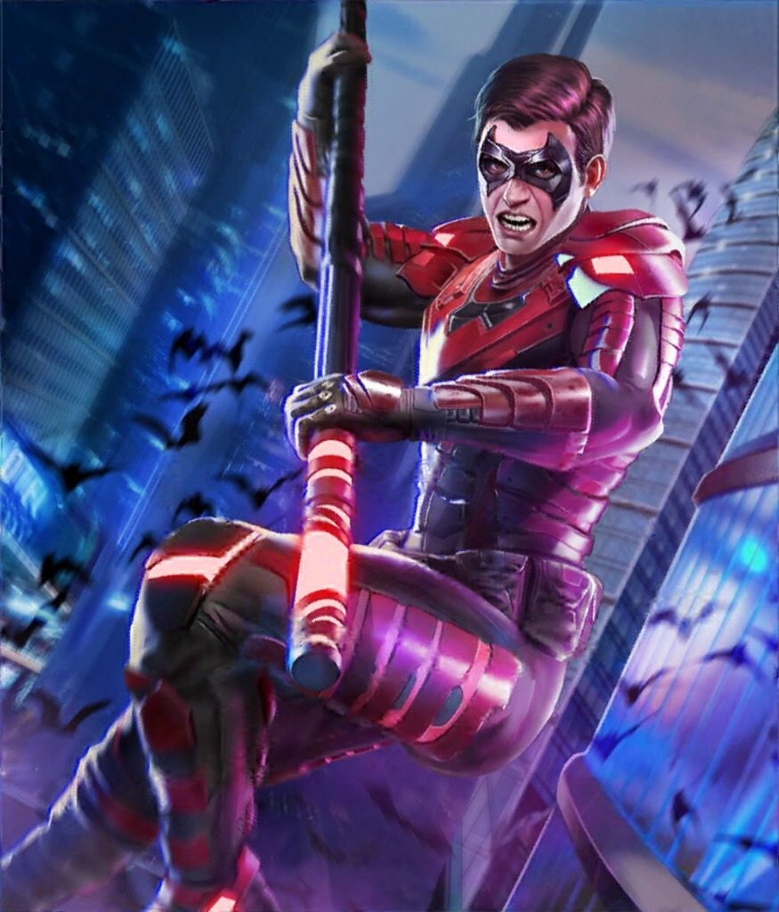 Nightwing Damian Wayne Injustice 2