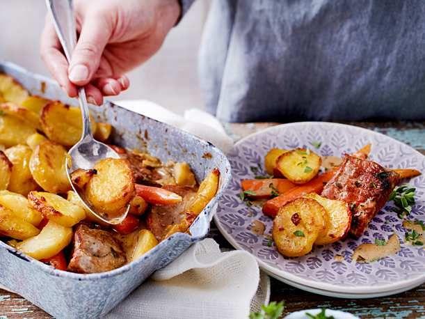 Filettöpfchen unter der Kartoffelhaube Rezept   LECKER
