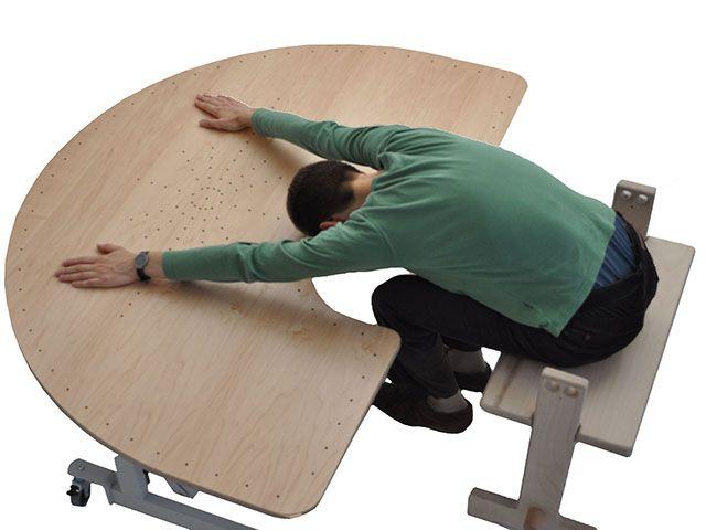 Wohnzimmertisch höhenverstellbar ~ Tisch höhenverstellbar und neigungsverstellbar bürowelten