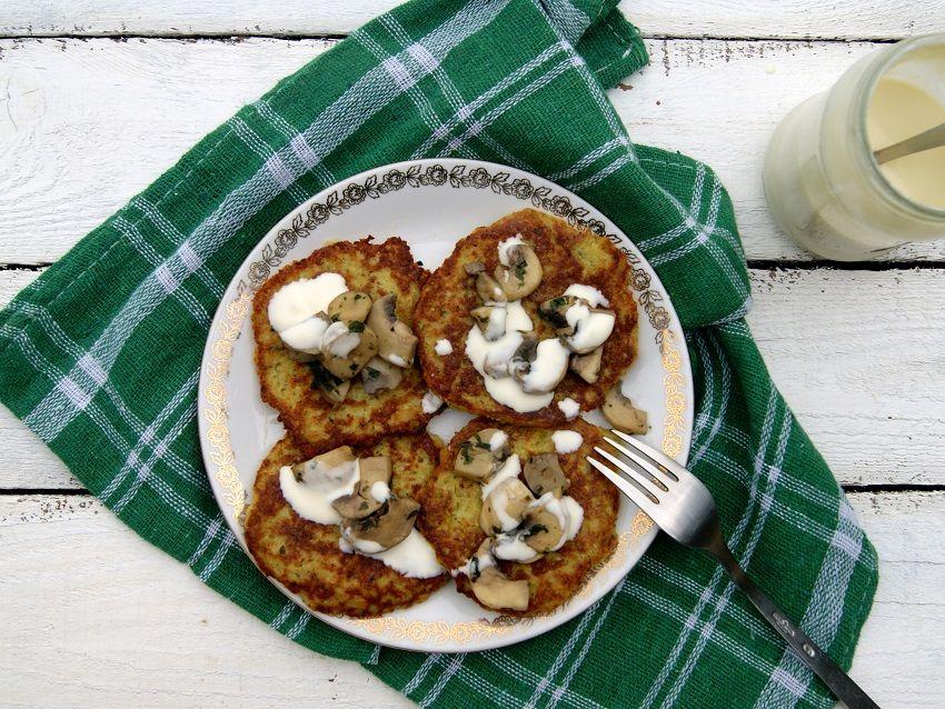 Placki ziemniaczane Breakfast, Food, Toast