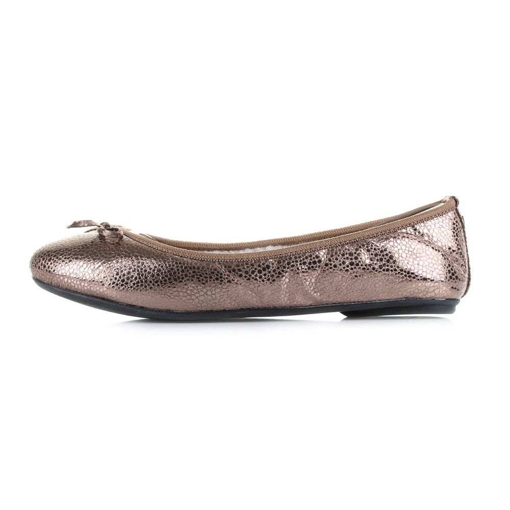 72534fefc517 Butterfly Twists Womens Penelope Antique Gold Metallic Ballerina Shoes Size  3 -- Continue to the product at the image link. (This is an affiliate link)  # ...