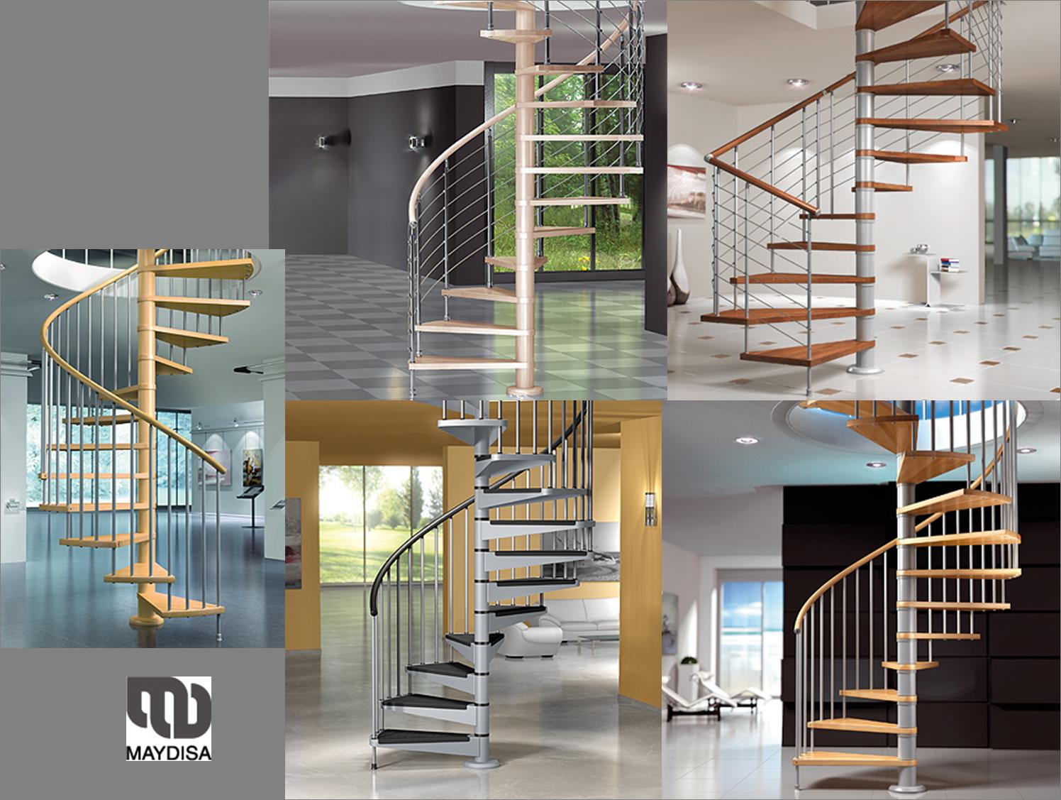 Escalera Caracol Dos Plantas Buscar Con Google House  ~ Precios De Escaleras De Caracol