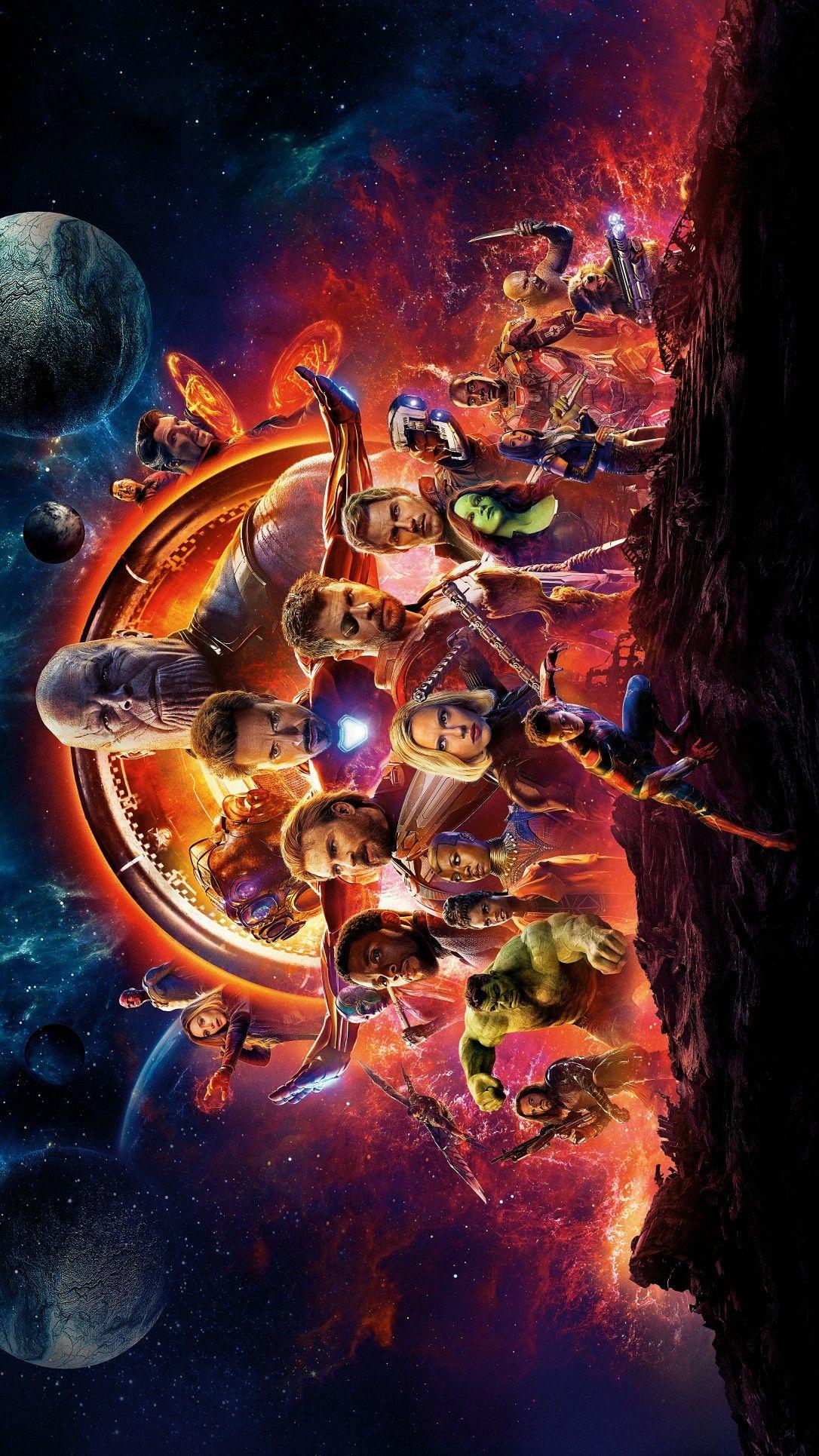 Avengers Infinity War Fullscreen Wallpaper For Desktop Marvel
