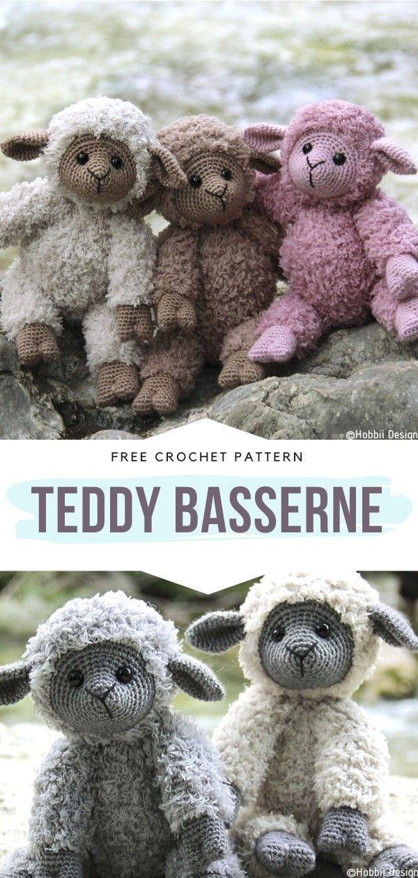 Photo of Häkeln von Teddybässen – #basserne #Crochet #Embroidery #EmbroideryPa … – Easy crochet baby – Ella Blog