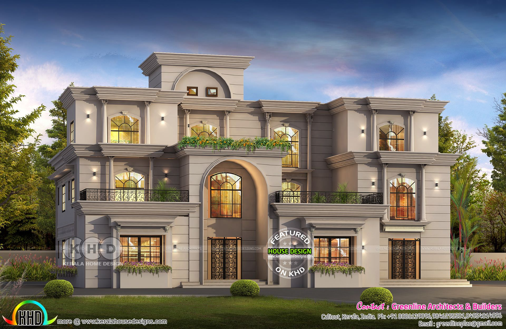 7 Bedroom Colonial Style Luxury House Plan Luxury House Plans Luxury House House Plans