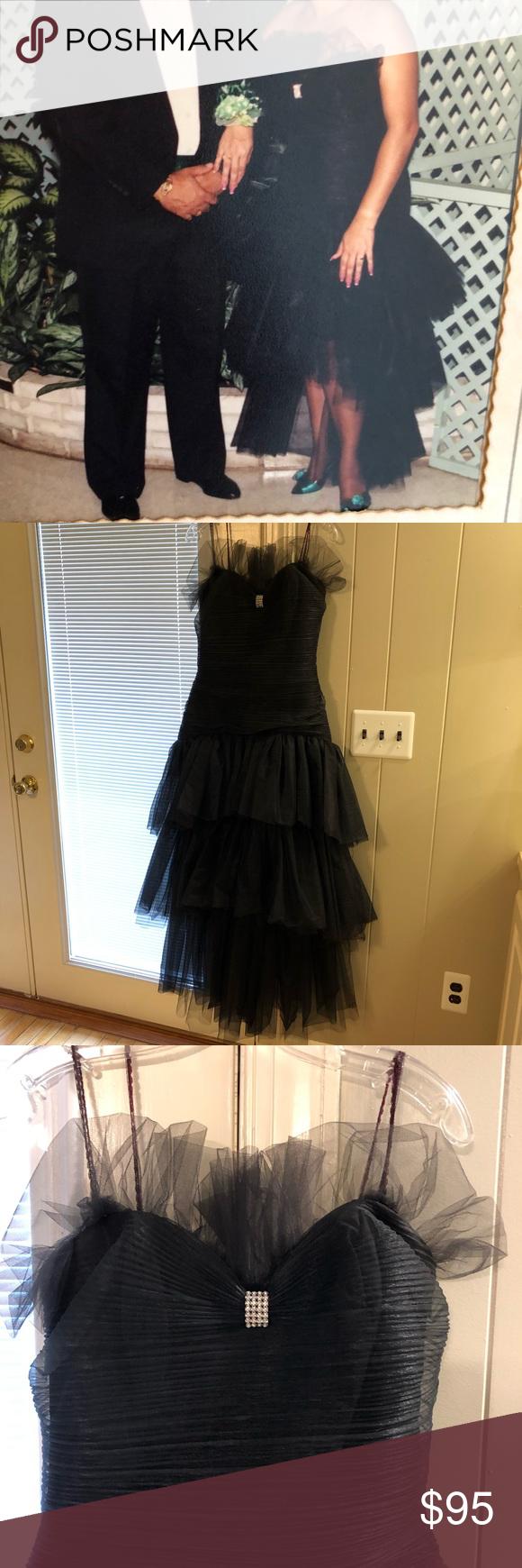 Climax For David Howard Vintage 1989 Party Dress Dresses Clothes Design Party Dress [ 1740 x 580 Pixel ]