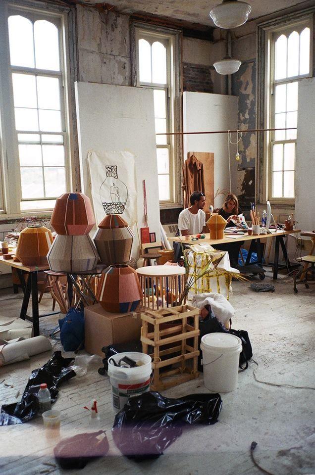 Ana Kras New York Studio Estudios De Artistas Estudio De Pintura Hogar