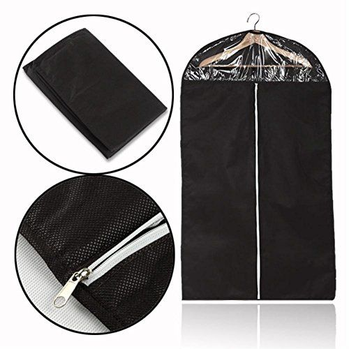 Breathable Dustproof Suit Jacket Dress Coat Garment Clothes Storage Bag * You can get additional details at the image link. (Note:Amazon affiliate link)