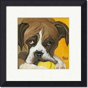 boxer dog art imagekind.com