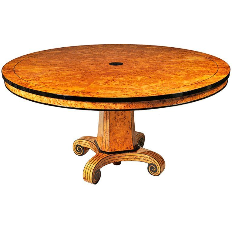 Biedermeier Style Extendable Dining Table By Iliad Design | From A Unique  Collection Of Antique And Modern Dining Room Tables At ...