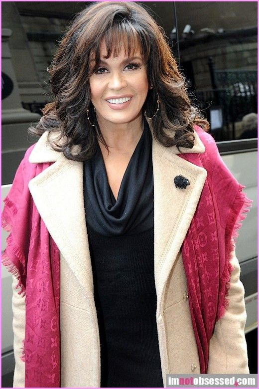 Marie Osmond Layered Hairstyle Shoulder Length Hair Styles For Women Hair Styles Marie Osmond