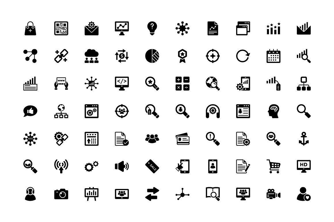 350 Seo And Digital Marketing Icons Marketing Icon Digital Marketing Custom Icons
