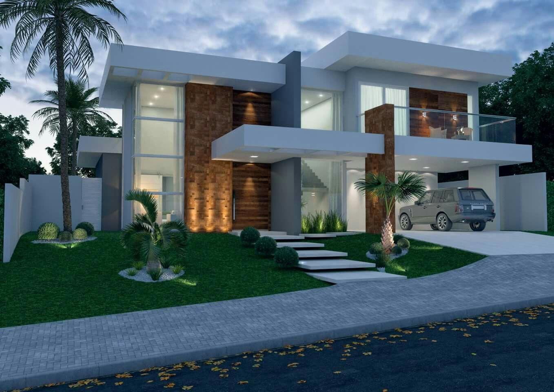 30 fachadas de casas modernas dos sonhos t for 30 fachadas de casas modernas dos sonhos