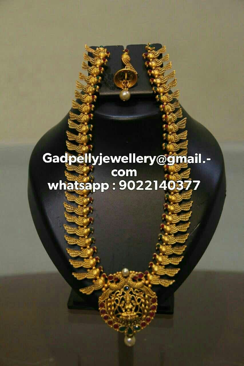 We deal in south indian jewellery with varied designs and colors