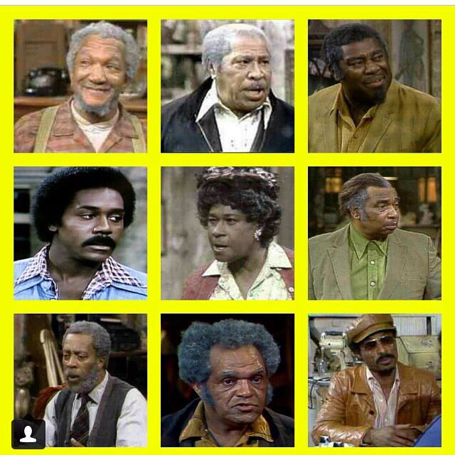 Best Cast Ever Sanford And Son Sanford And Son Sanford And Son Cast Black Tv Shows