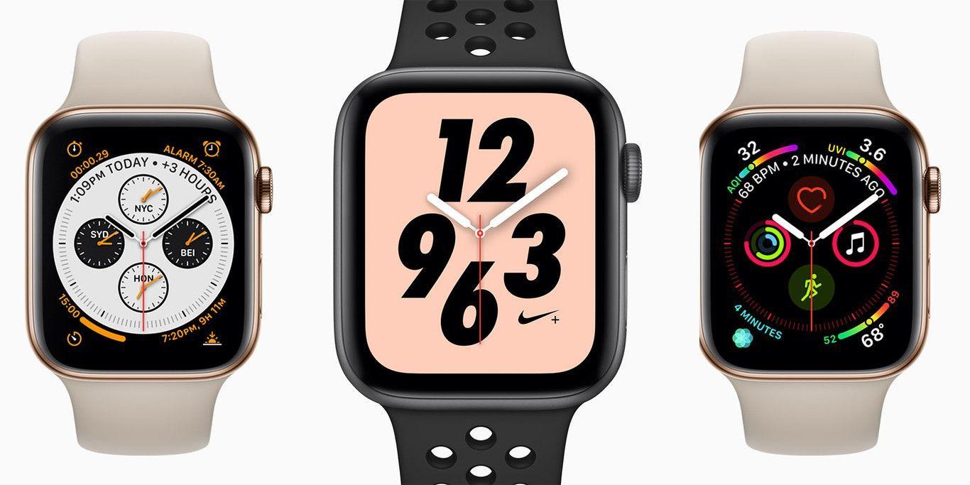 Apple Watch Series 4 más grande, con más pantalla y con