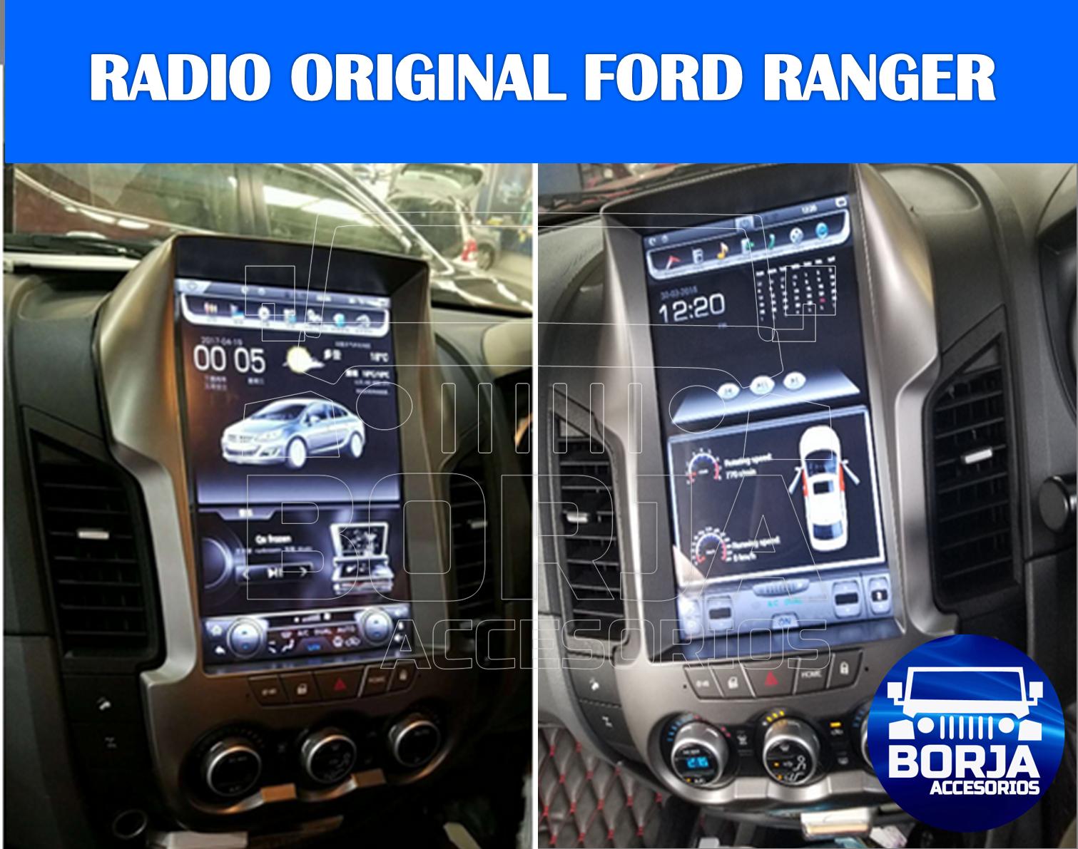 Radio Original Android Tipo Tesla Ford Ranger Radio Ford Ranger