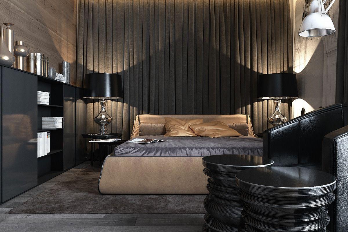 3 amazing dark bedroom interior design luxurious on home interior design bedroom id=35395