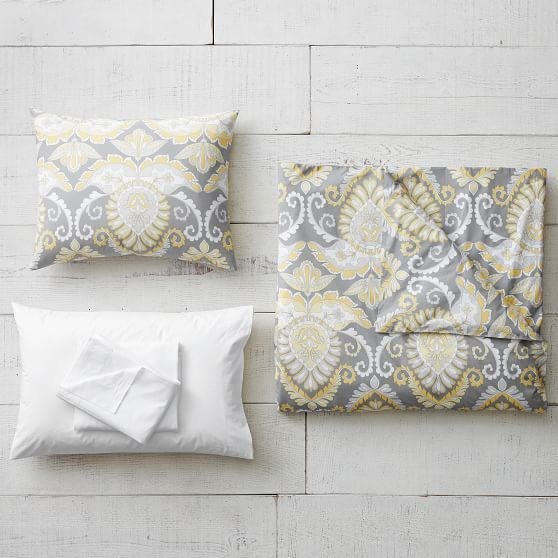 Pottery Barn Pillow Inserts Extraordinary Pottery Barn Teen Deco Medallion Deluxe Comforter Set With Duvet Design Inspiration