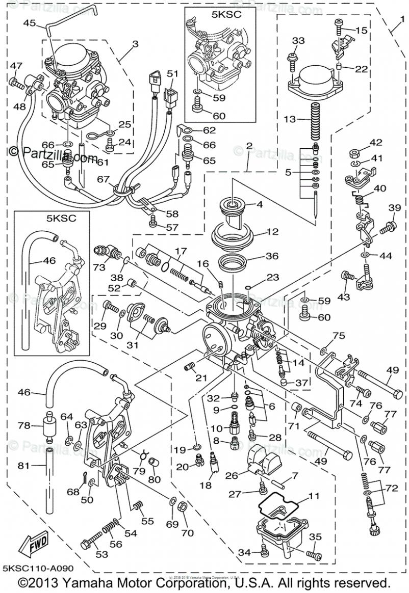 Yamaha V Star 7 Engine Diagram Di 2020