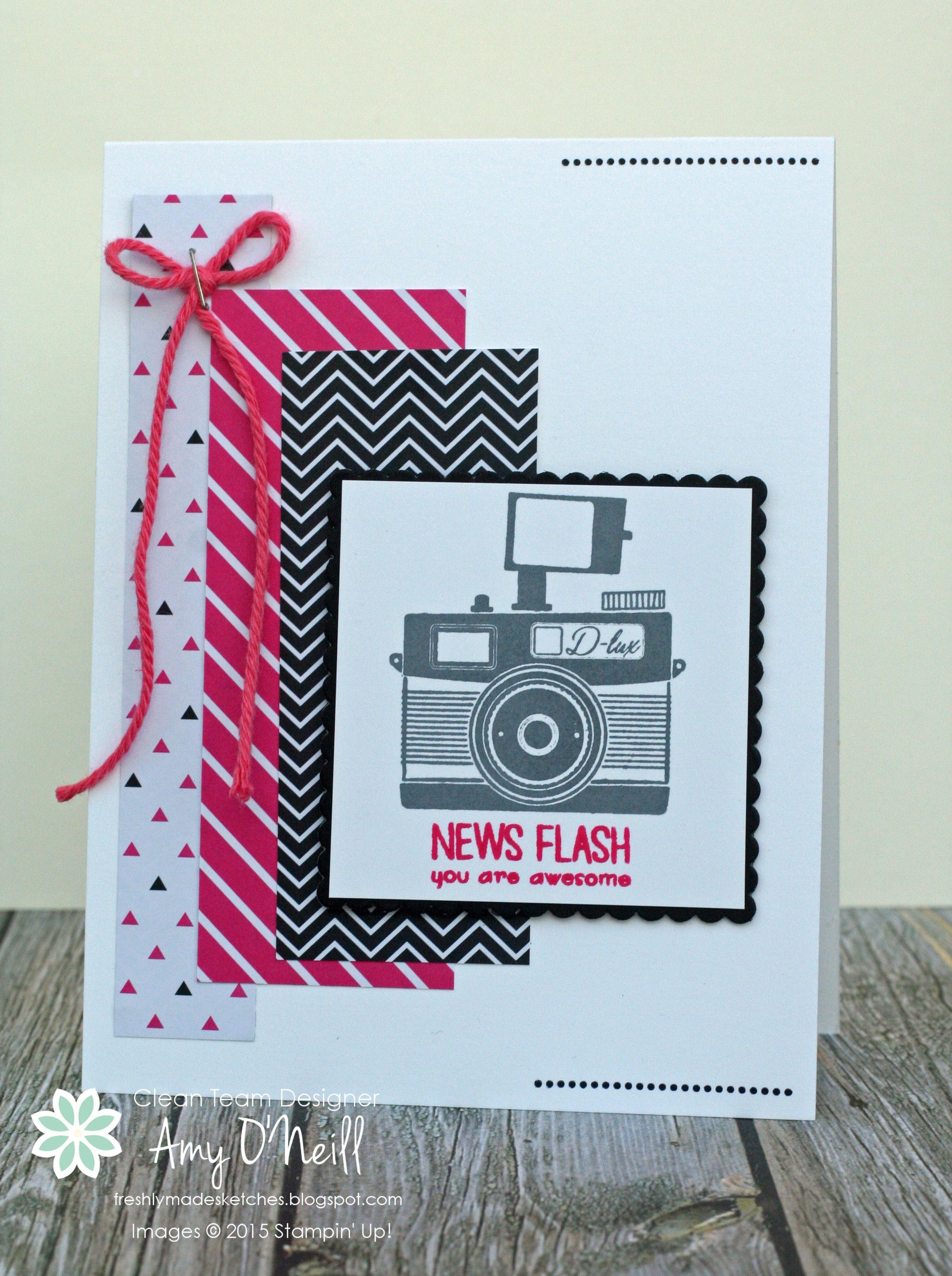 News Flash Su Pun Intended Hostess Pinterest Cards Card Ideas