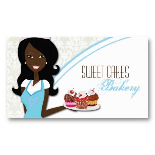 African american baker cup cakes business card african american african american baker cup cakes business card colourmoves Images