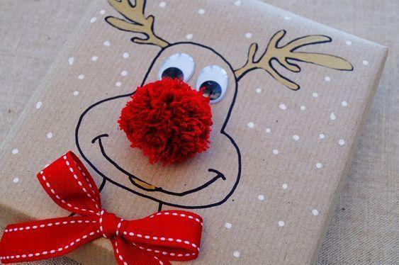 Photo of Diese niedliche Weihnachtsren-Geschenkverpackungsidee ist wirklich einfach zu tu…