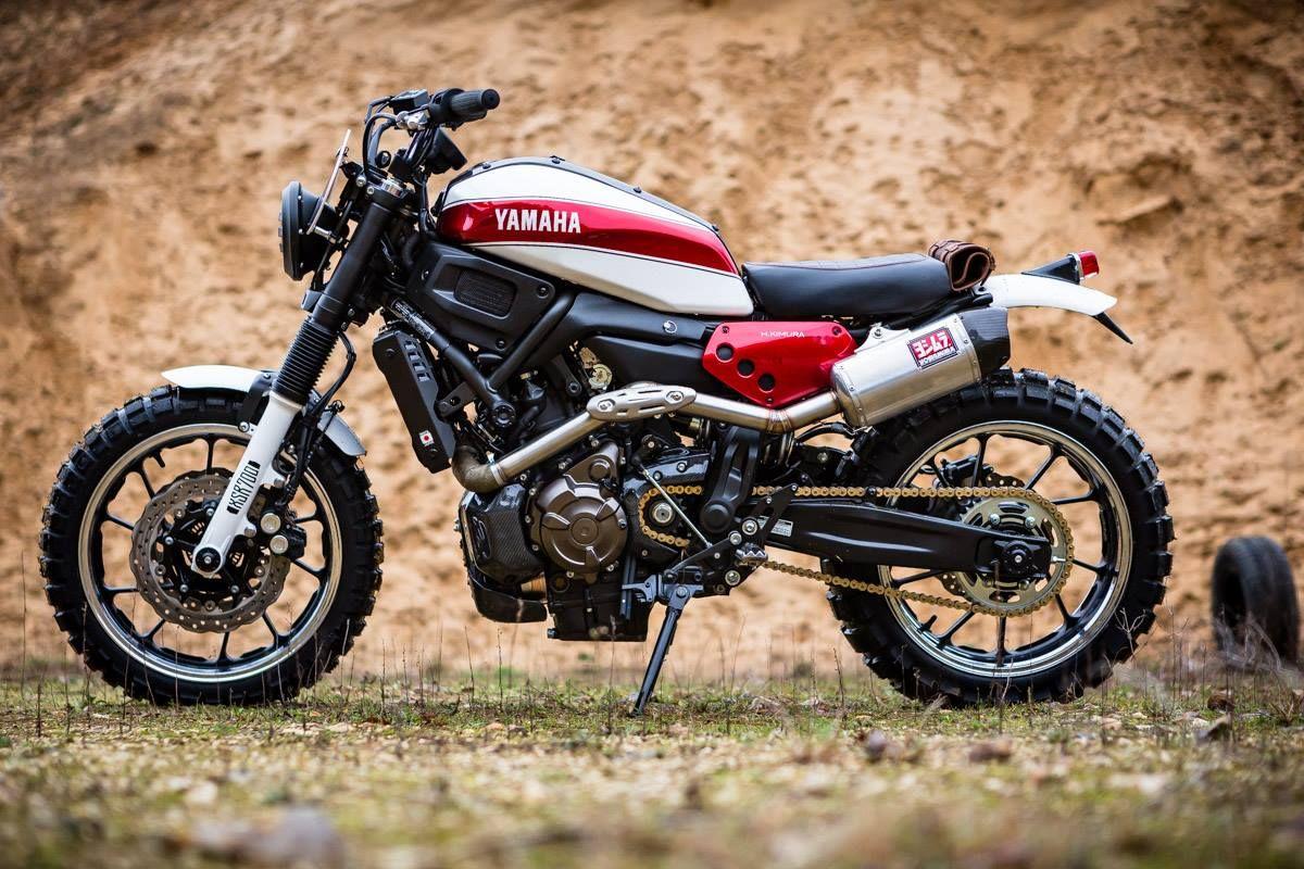 Moto yamaha scrambler cars motorcycles bobber forward mt09 yamaha - Yamaha Ty700 R Kimura Scrambler By Liberty Yam Motorcycles Scrambler Motos