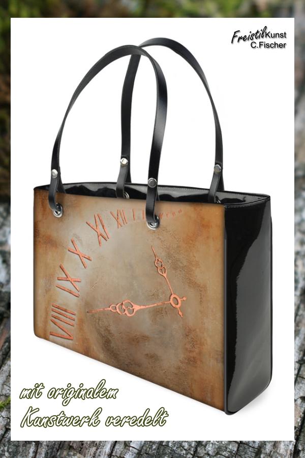6d3d257490280 Diese fantastische Designer Handtasche mit originalem Kunstwerk veredelt  ist ein richtiges Highlight in Deiner Sammlung.