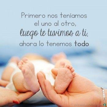Imágenes De Bebes Con Frases Bonitas De Amor Para Whatsapp Frases Para Bebes Frases Sobre Bebé Frases Para Embarazadas