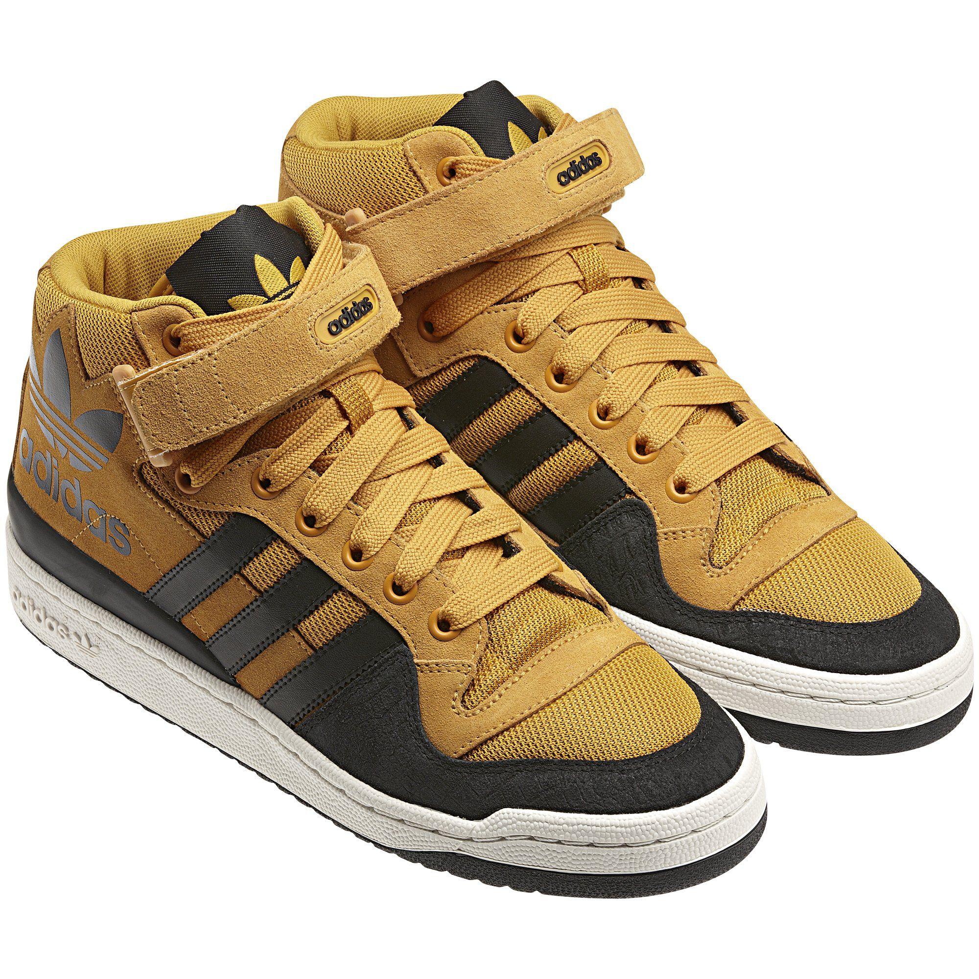 sports shoes 86af6 11040 Men s Forum Mid Rs Xl Shoes, Craft Gold   White Vapour   Black