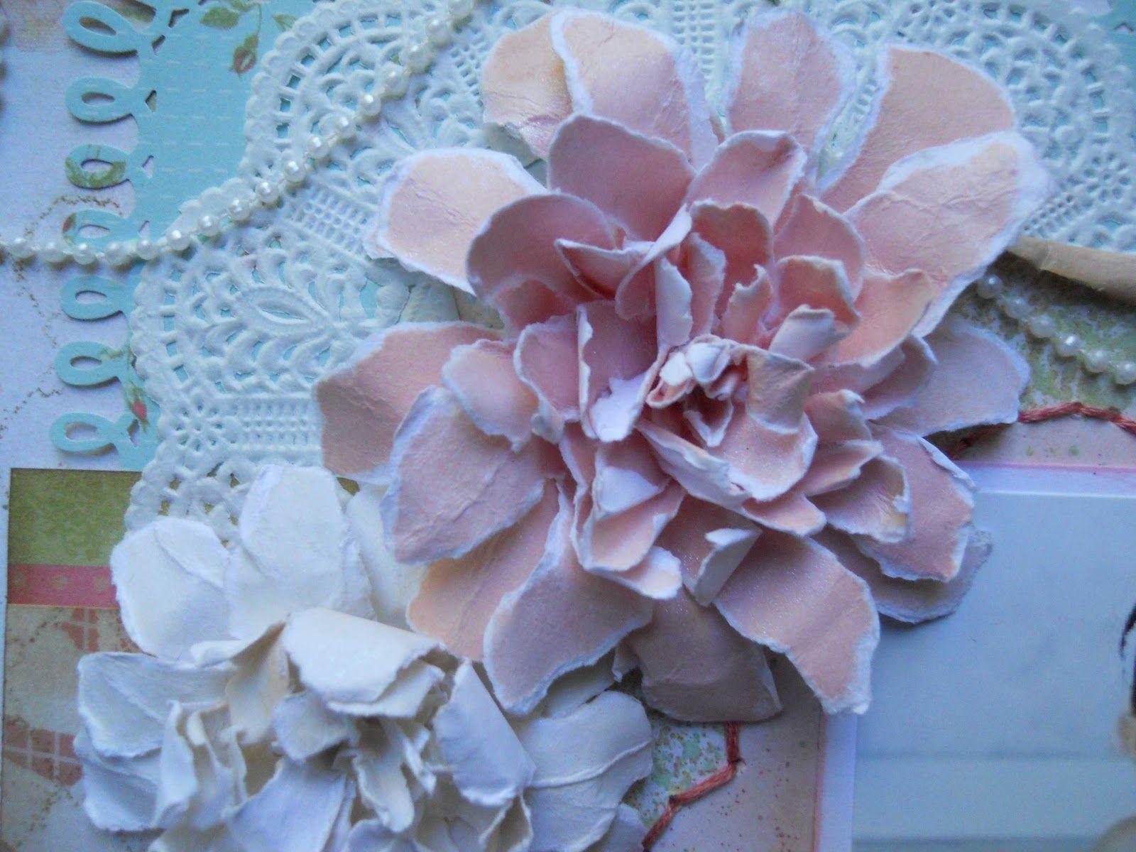 One of my flower tutorials.  Drea's Scraps of Inspiration