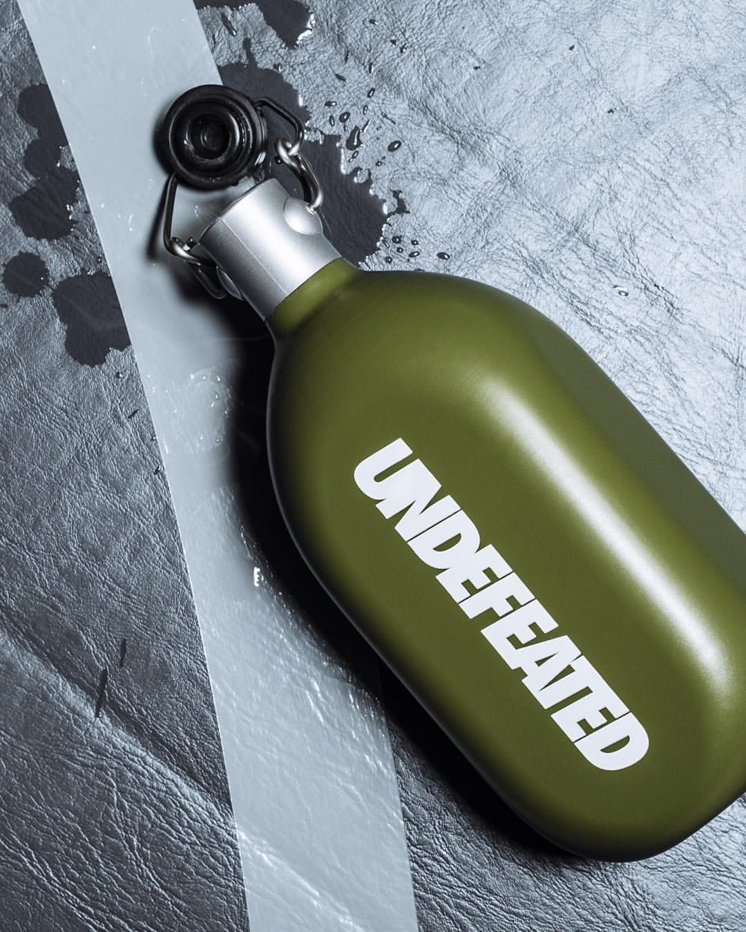 Undefeated Lightweight Aluminum 34 oz Canteen // Available now at All Undefeated Chapter Stores and Undefeated.com