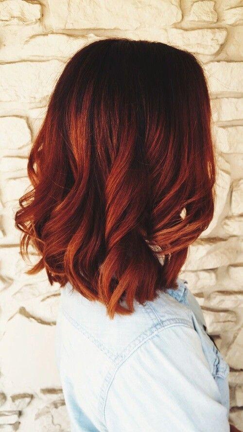 Einige nützliche Ideen, um das Beste aus Ihren roten Haaren herauszuholen und im kommenden Winter super Haare zu zeigen! - Neueste frisuren | bob frisuren | frisuren 2018 - neueste frisuren 2018 - haar modelle 2018