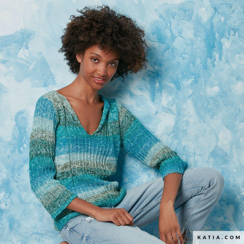 pattern knit crochet woman sweater