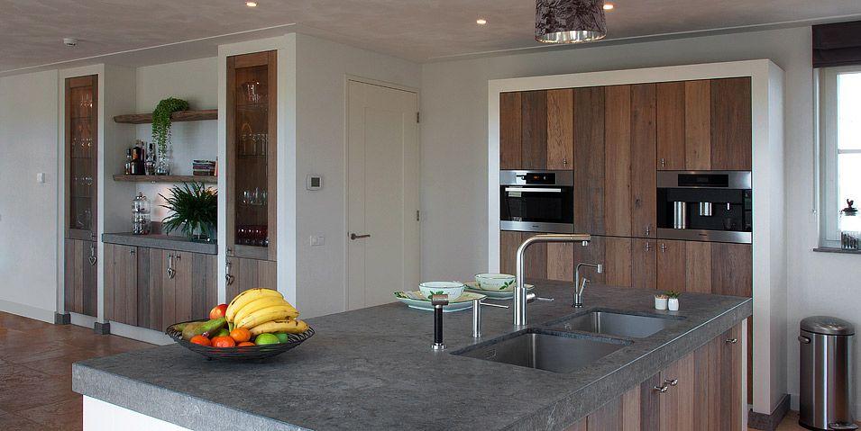 Houten keuken piet boon landelijke keuken houten for Keuken landelijk modern