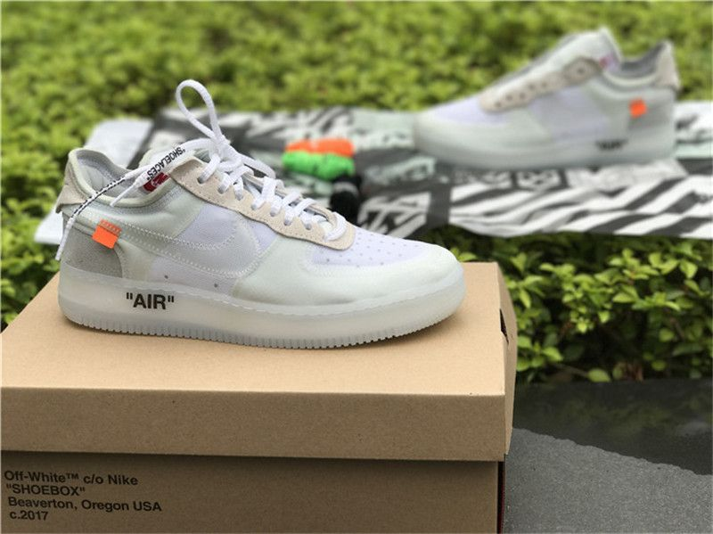 super popular f4580 dbc4d Shop Off-White X Nike Air Force Outlet