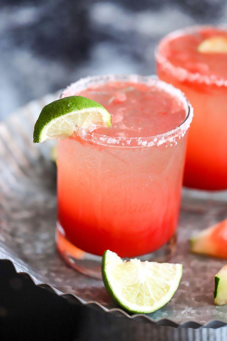 Watermelon Prosecco Margarita Recipe Watermelon