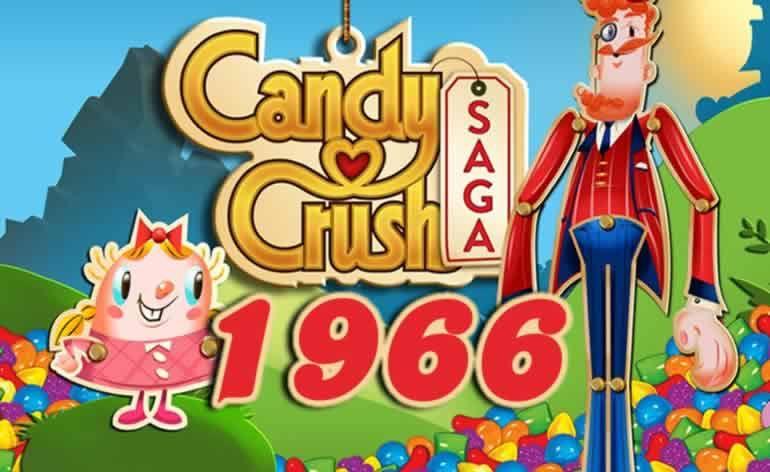 Candy Crush Saga Level 1966