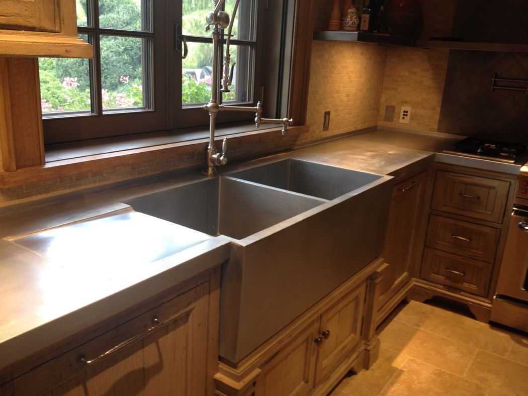Custom Zinc Sinks For Wet Bars Kitchens And Bathrooms Black